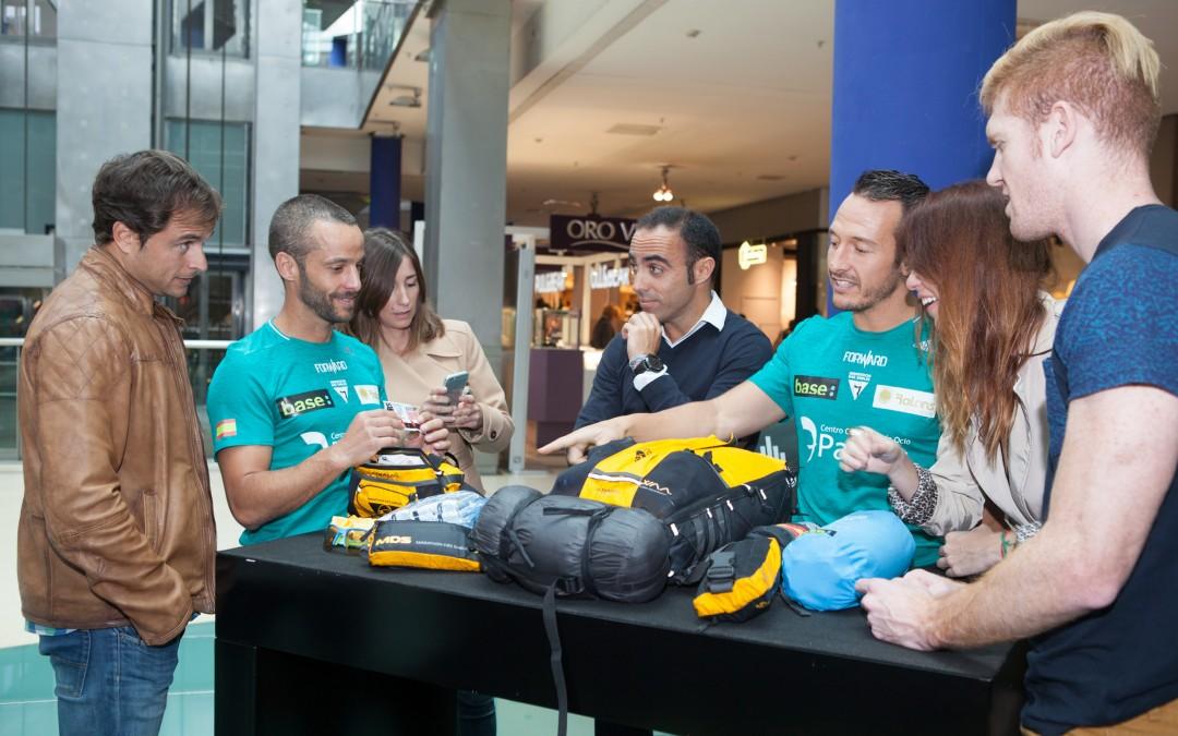 Presentación del equipo Forward en el CC 7 Palmas