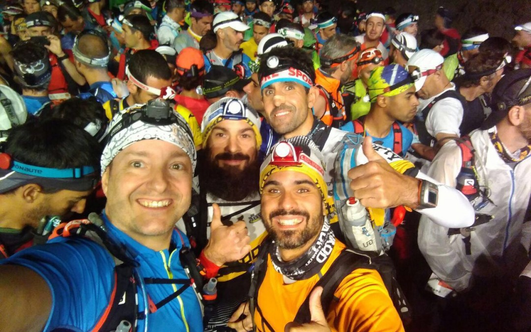EL FORWARD TEAM EN LA TRANSVULCANIA 2016